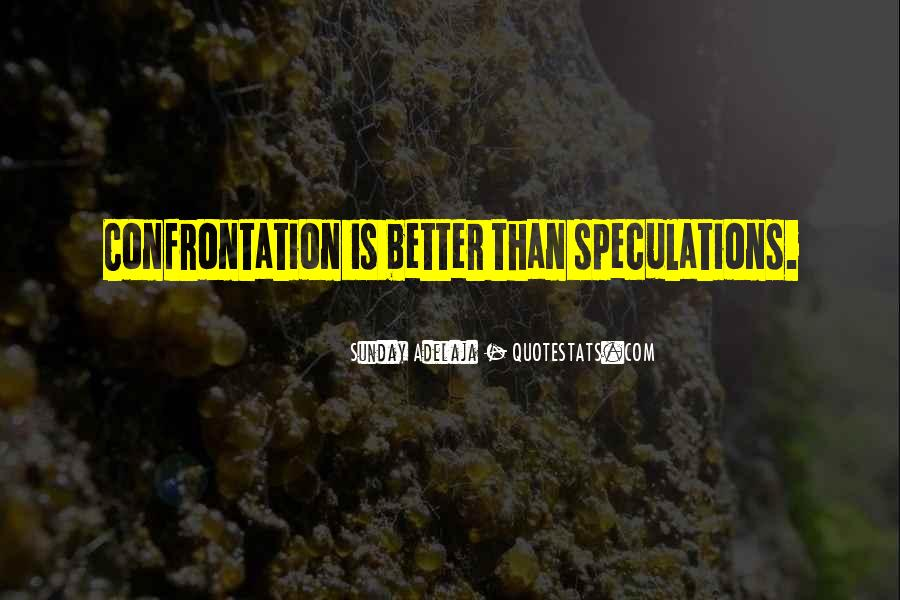 Quotes About Speculations #1415678