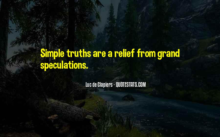 Quotes About Speculations #1496596