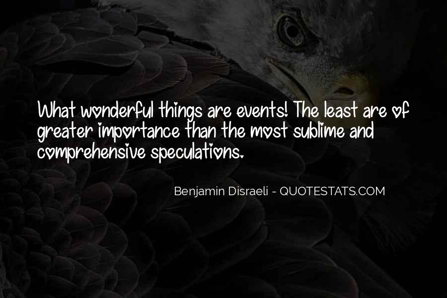 Quotes About Speculations #230275