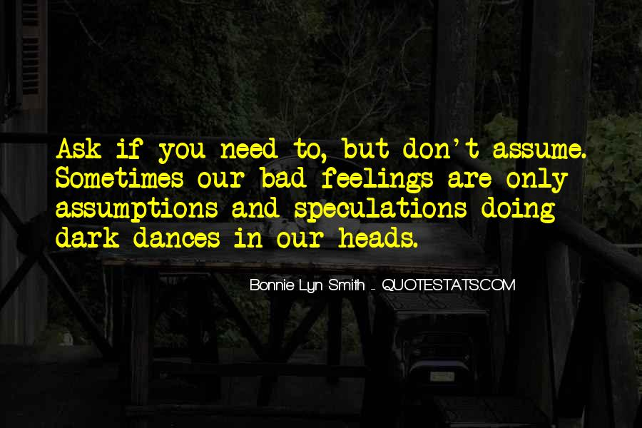 Quotes About Speculations #460780