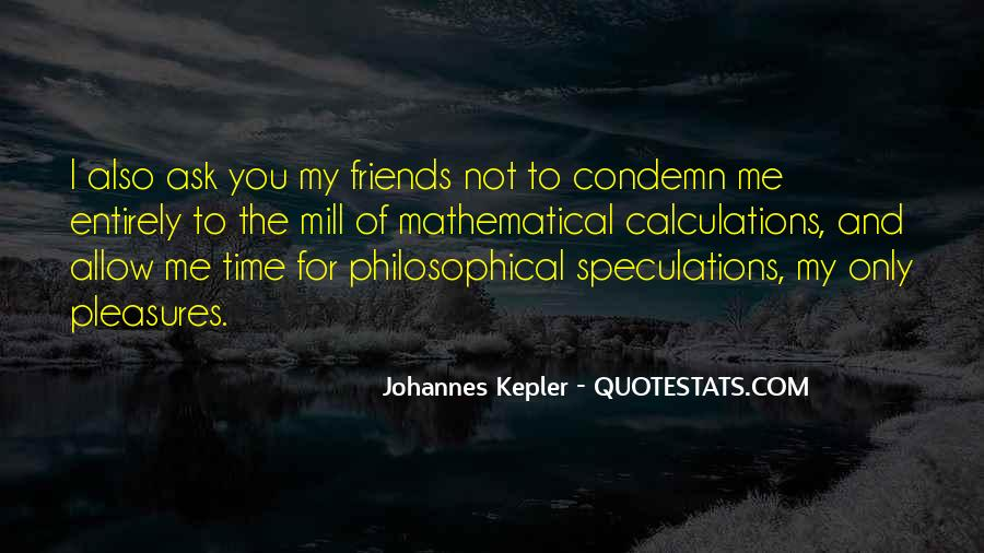 Quotes About Speculations #465060