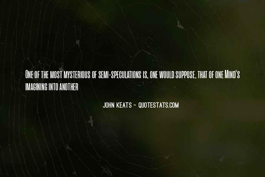 Quotes About Speculations #948205