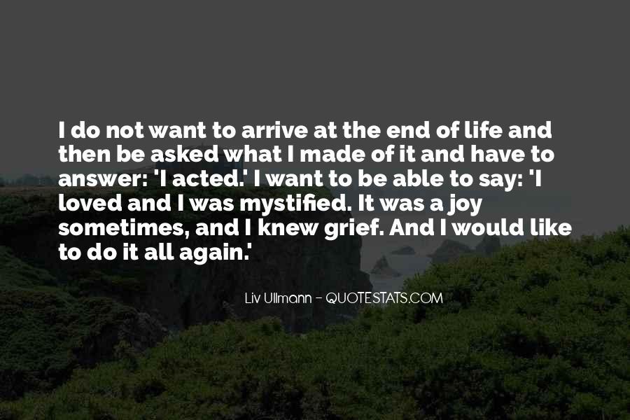 Liv Ullmann Quotes #818296