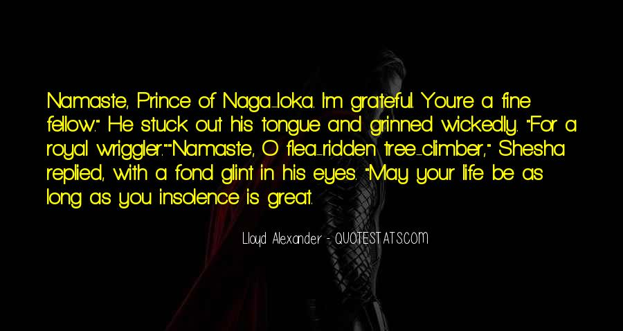 Lloyd Alexander Quotes #505744