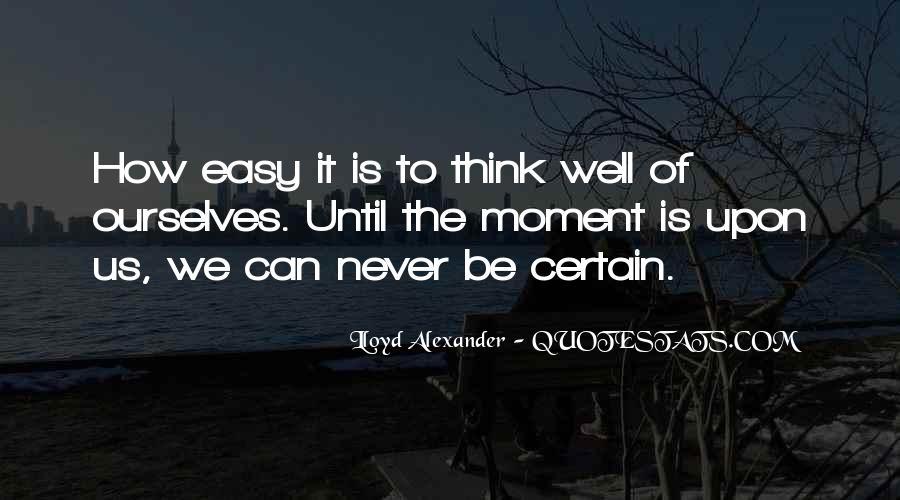 Lloyd Alexander Quotes #742373