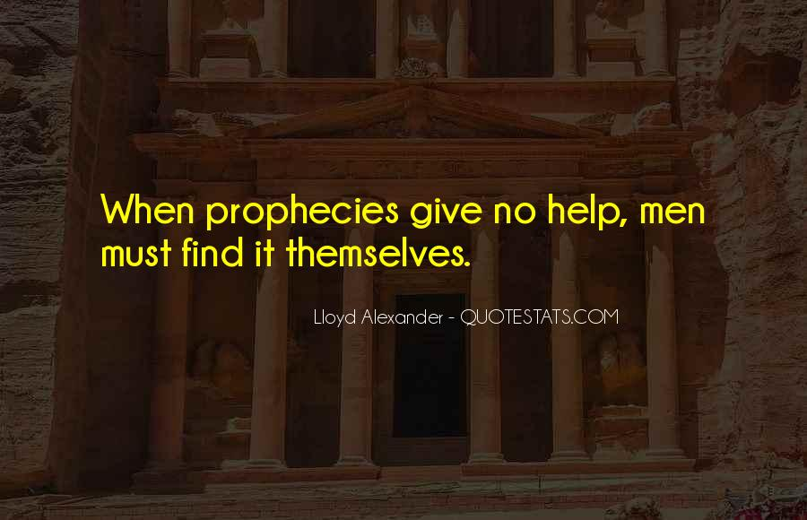 Lloyd Alexander Quotes #758746