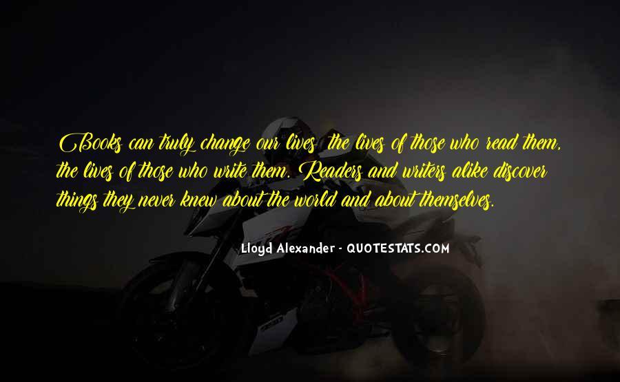 Lloyd Alexander Quotes #975606