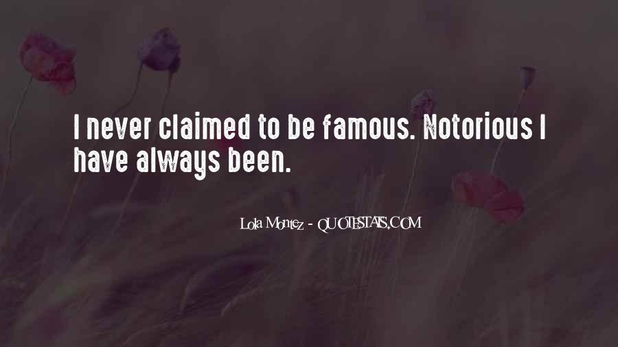 Lola Montez Quotes #870274