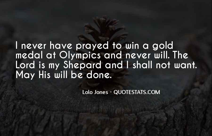 Lolo Jones Quotes #1438606