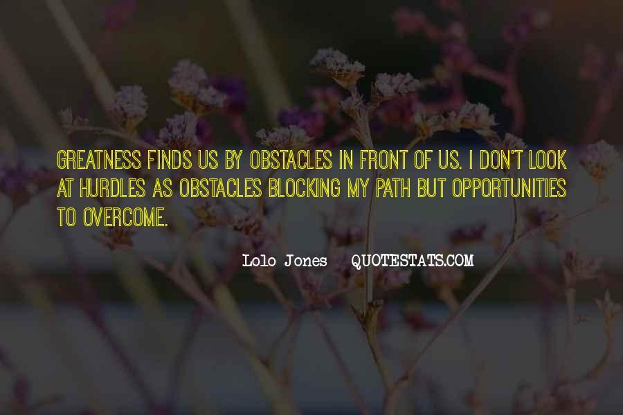 Lolo Jones Quotes #493035
