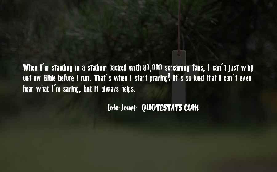Lolo Jones Quotes #815732