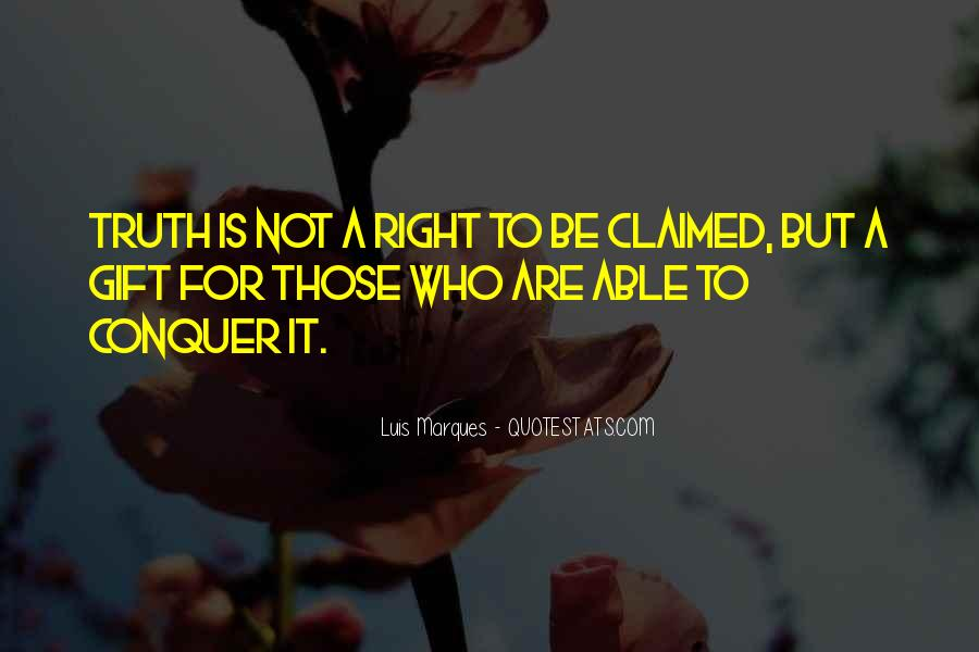 Luis Marques Quotes #27607