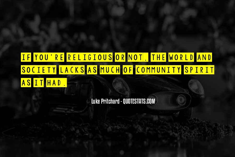 Luke Pritchard Quotes #906776