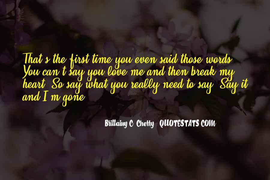 M.c Quotes #165978