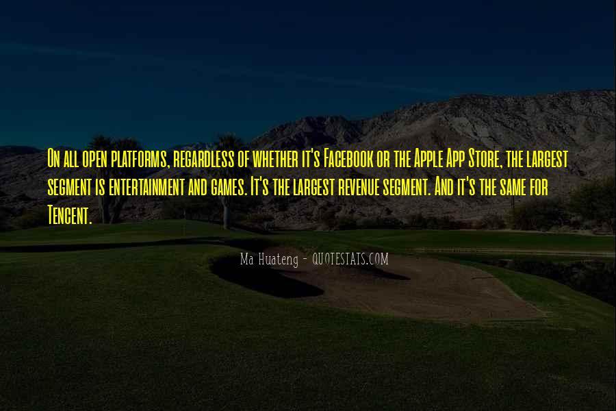 Ma Huateng Quotes #1510958