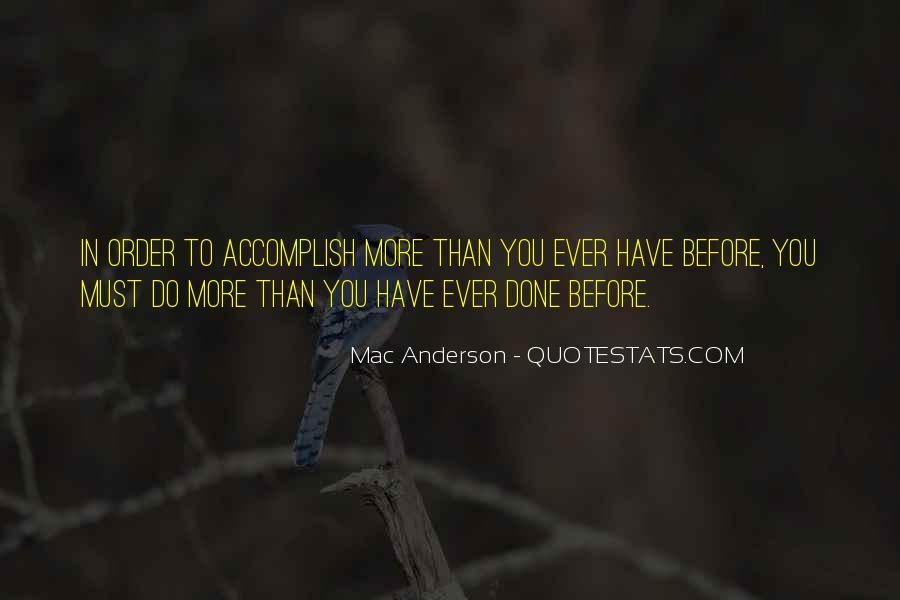 Mac Anderson Quotes #103734