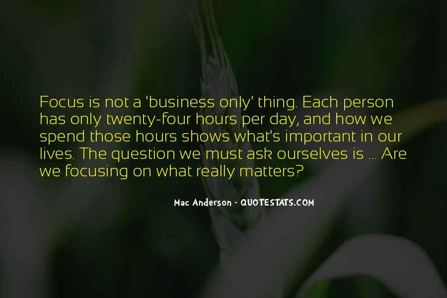 Mac Anderson Quotes #132996