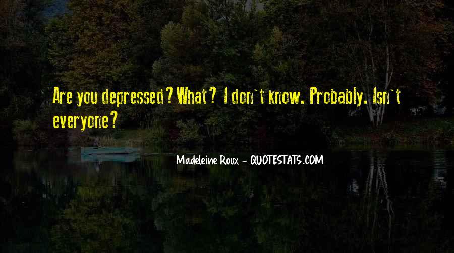 Madeleine Roux Quotes #943171