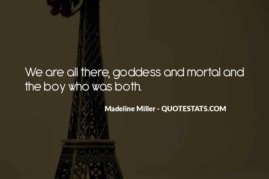Madeline Miller Quotes #163080