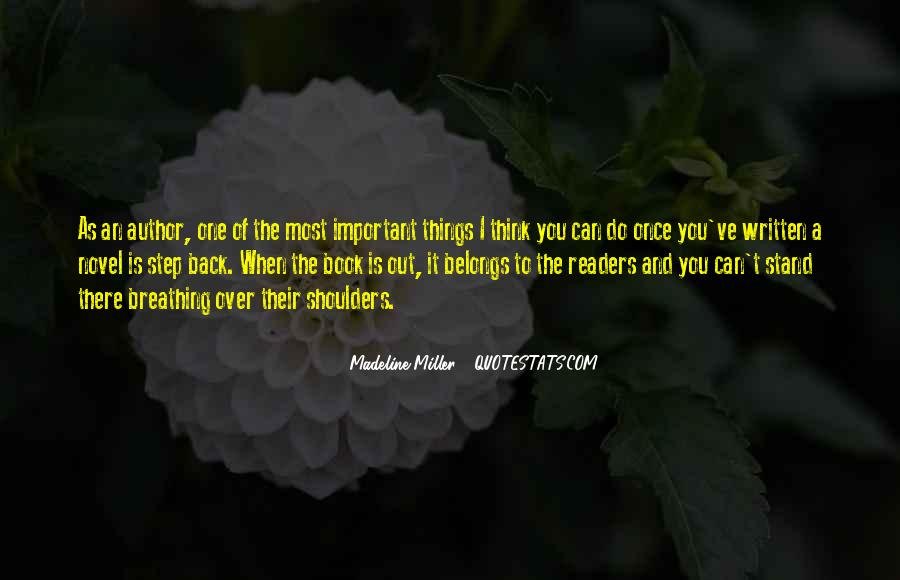 Madeline Miller Quotes #314413