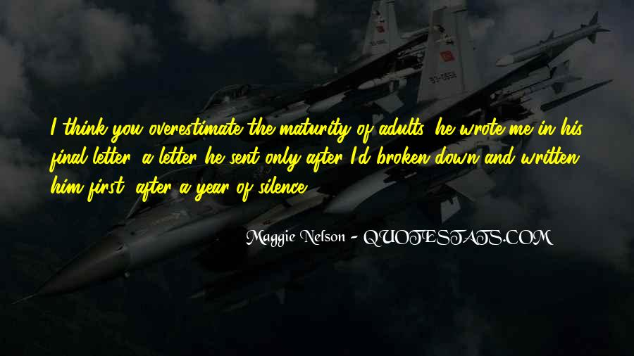 Maggie Nelson Quotes #1100242
