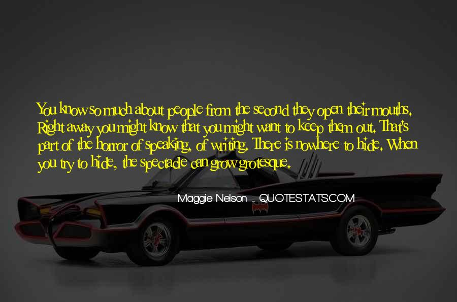 Maggie Nelson Quotes #947618