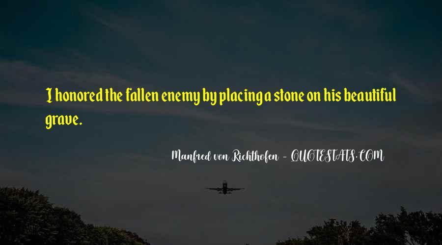 Manfred Von Richthofen Quotes #1246709