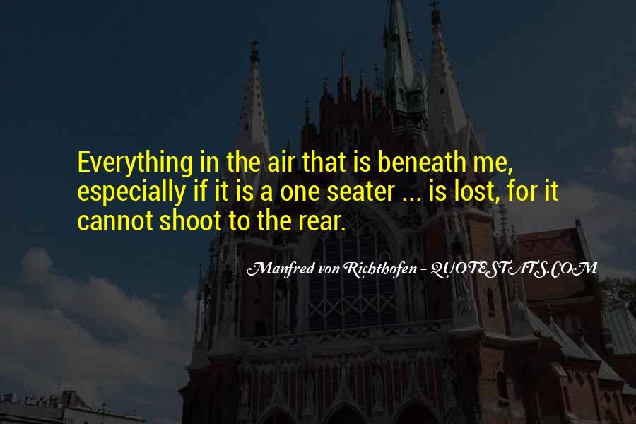 Manfred Von Richthofen Quotes #1329069