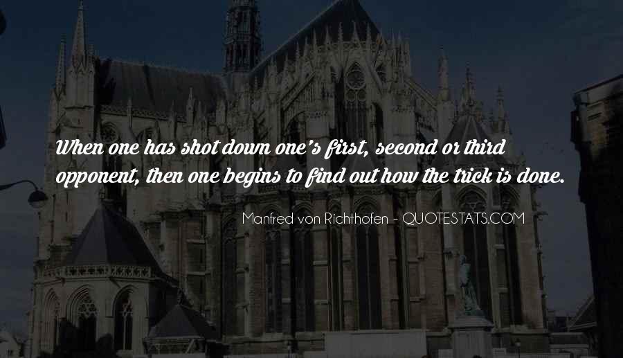 Manfred Von Richthofen Quotes #1486844