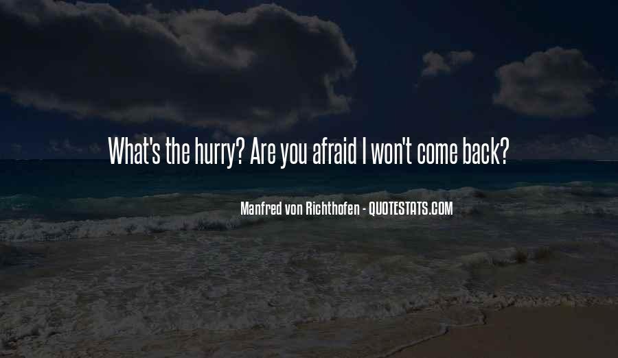 Manfred Von Richthofen Quotes #1567710