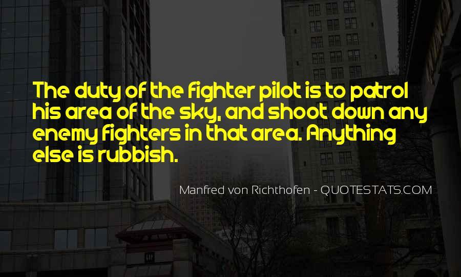 Manfred Von Richthofen Quotes #279861