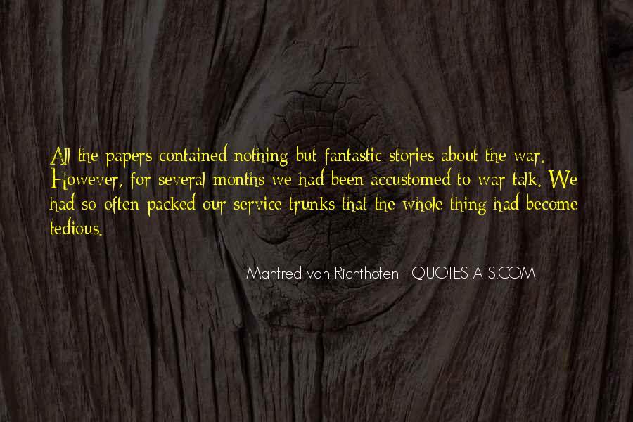 Manfred Von Richthofen Quotes #330653