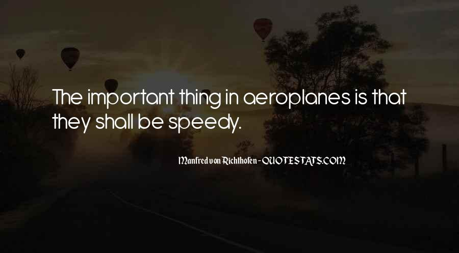 Manfred Von Richthofen Quotes #604338