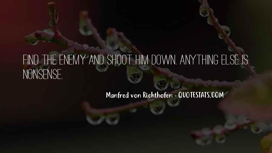 Manfred Von Richthofen Quotes #901444