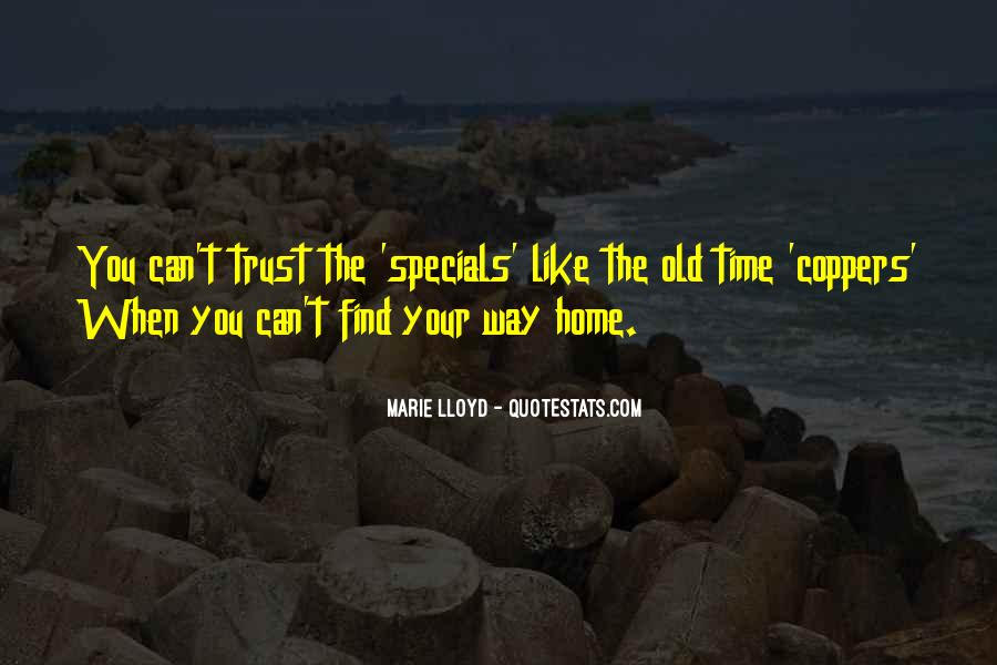 Quotes About Specials #1809122