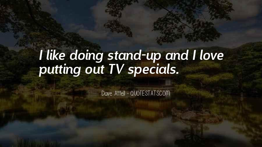 Quotes About Specials #425443