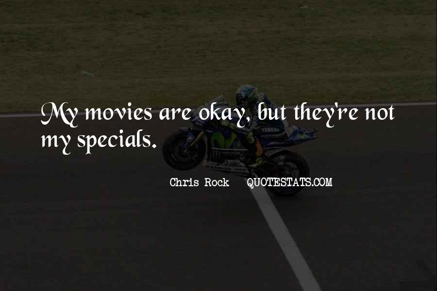 Quotes About Specials #848947