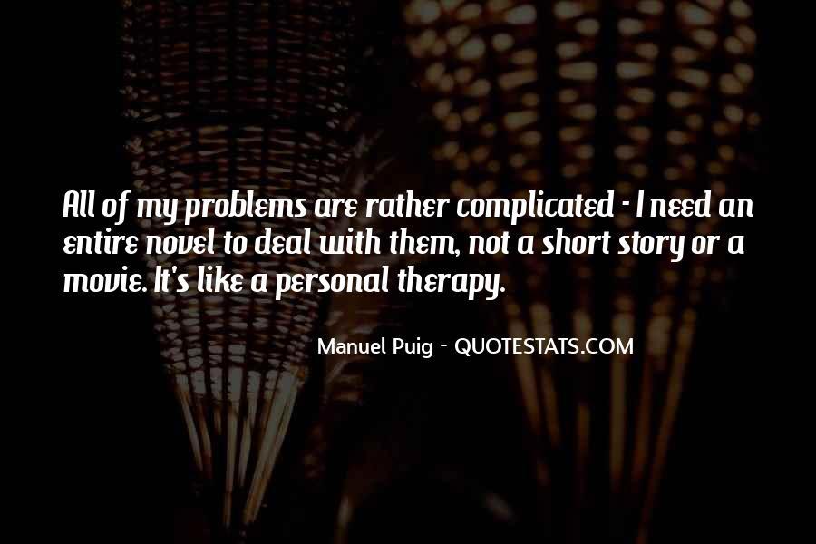 Manuel Puig Quotes #1209111
