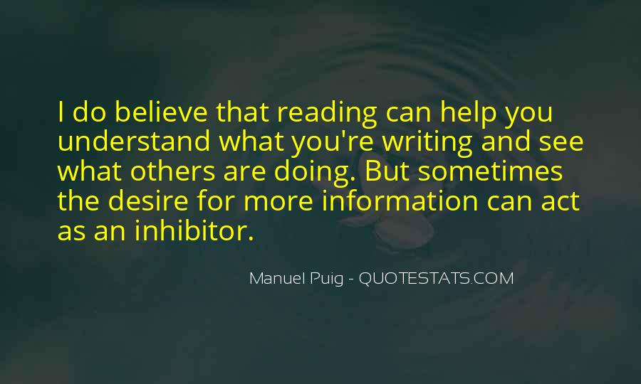 Manuel Puig Quotes #613456