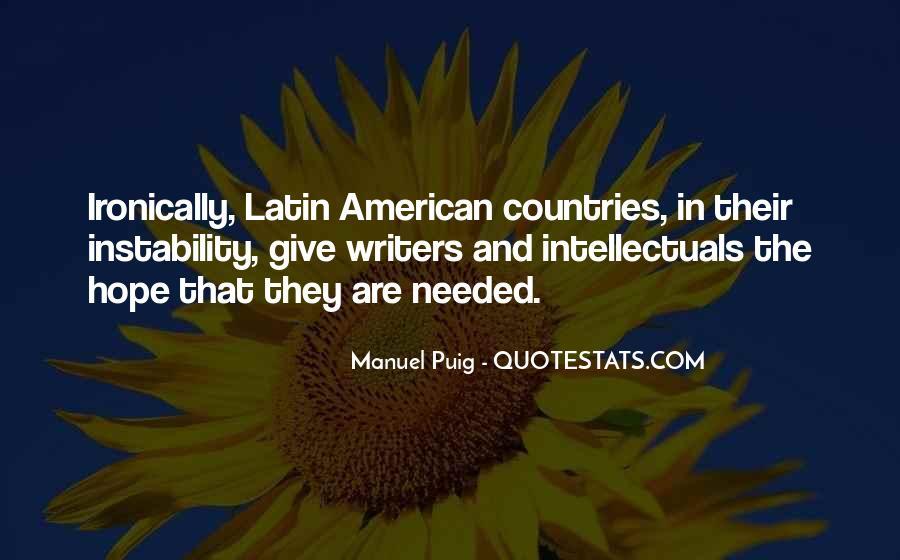 Manuel Puig Quotes #62975