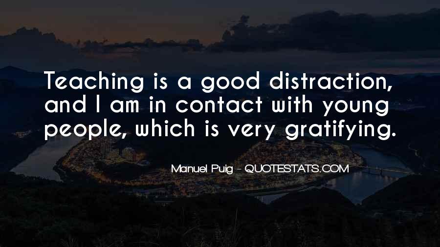 Manuel Puig Quotes #640417