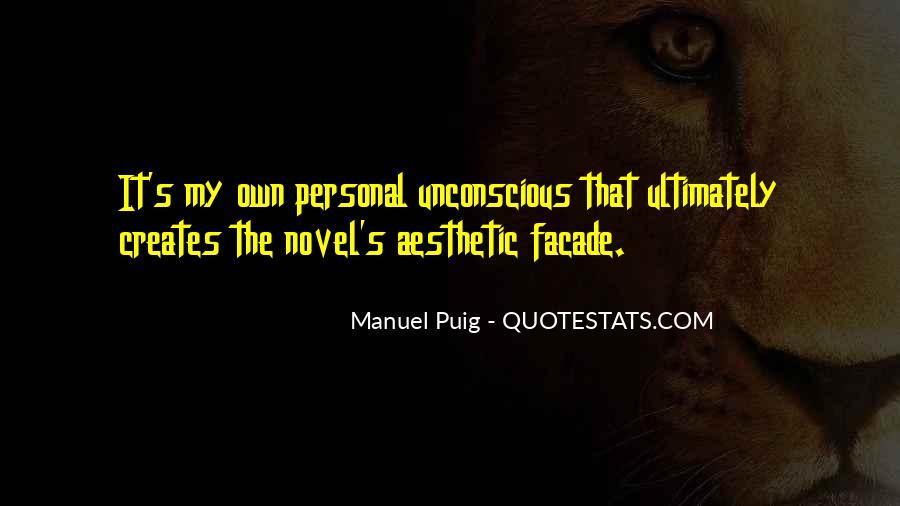 Manuel Puig Quotes #843440