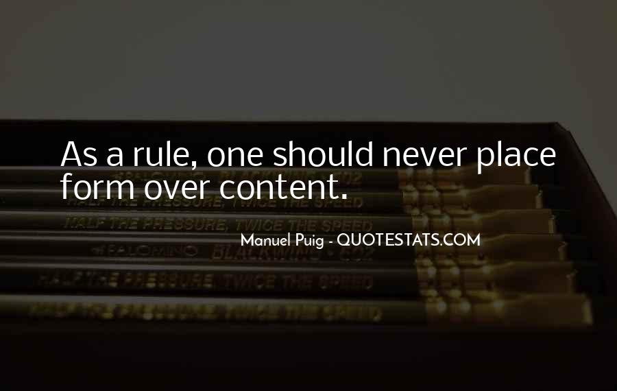 Manuel Puig Quotes #881913