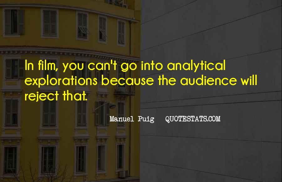 Manuel Puig Quotes #944874