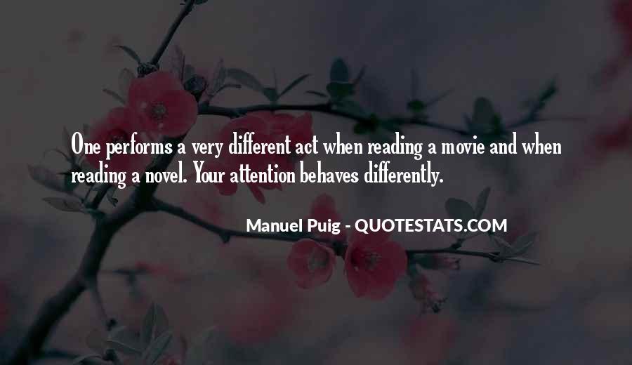 Manuel Puig Quotes #95685