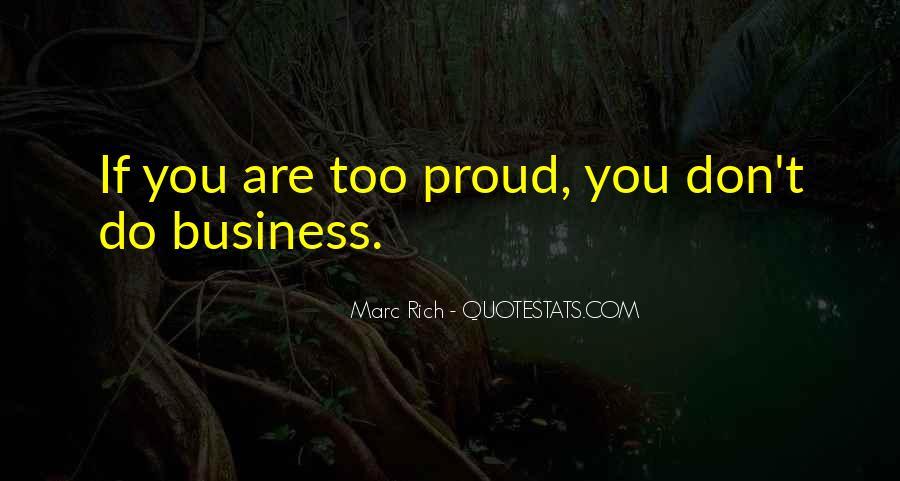 Marc Rich Quotes #768808
