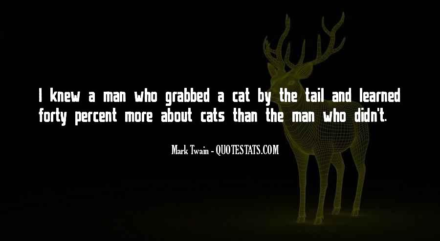 Quotes About Cats Mark Twain #1630126
