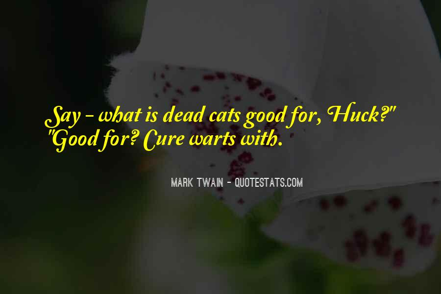 Quotes About Cats Mark Twain #1721059