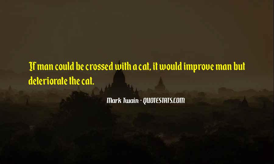 Quotes About Cats Mark Twain #1832419