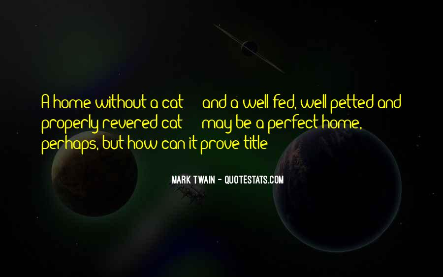 Quotes About Cats Mark Twain #1842375
